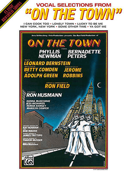 On The Town Piano/Vocal Selections Songbook