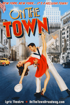 On the Town Broadway Poster