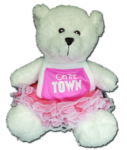 On the Town the Broadway Musical -  Ballerina Bear Plush Toy