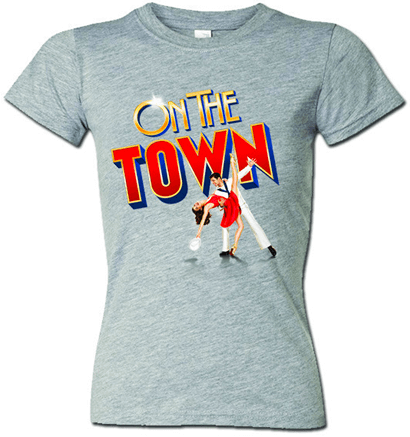 On the Town the Broadway Musical - Ladies Logo T-Shirt