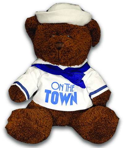 On the Town the Broadway Musical - Sailor Bear Plush Toy