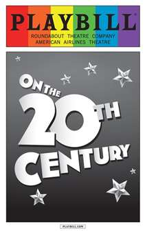 On the Twentieth Century - June 2015 Playbill with Rainbow Pride Logo