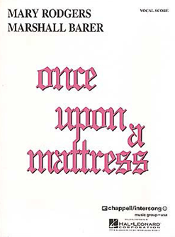 Once Upon A Mattress Vocal Score