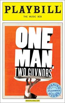 One Man, Two Guvnors Limited Edition Official Opening Night Playbill