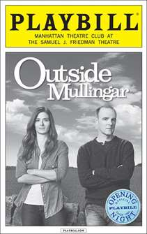 Outside Mullingar Limited Edition Opening Night Playbill