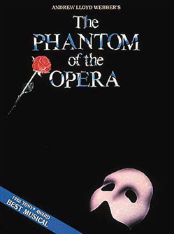 Phantom of the Opera Souvenir Edition Piano/Vocal Selections Songbook