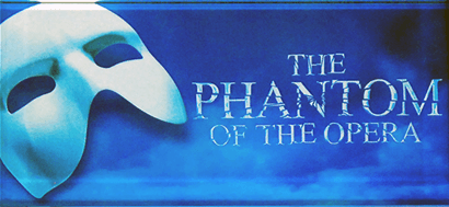 Phantom of the Opera the Broadway Musical - Acrylic Logo Magnet