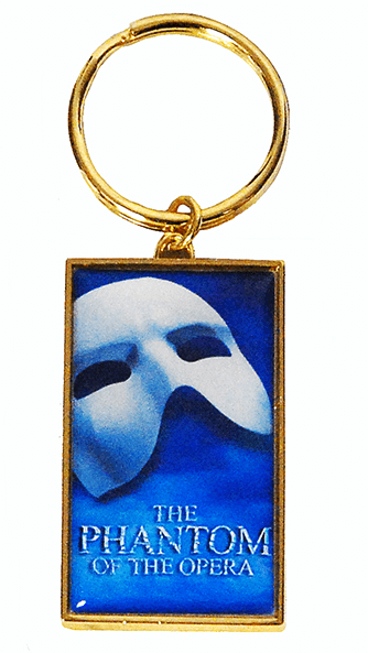 Phantom of the Opera the Broadway Musical - Logo Keychain