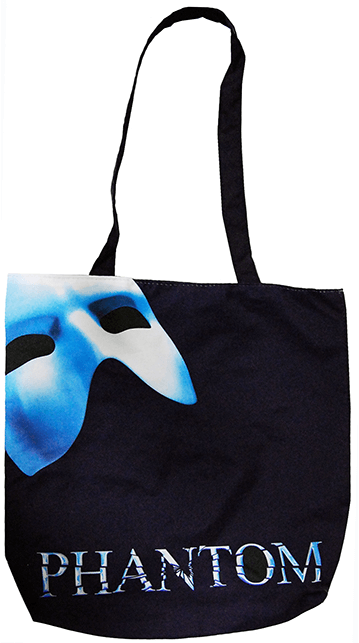 Phantom of the Opera the Broadway Musical - Logo Tote Bag