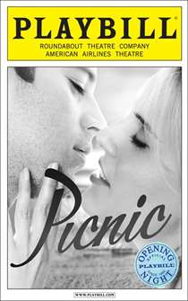 Picnic Limited Edition Official Opening Night Playbill