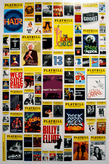 Playbill 2008 2009 Broadway Season Poster 3rd Annual