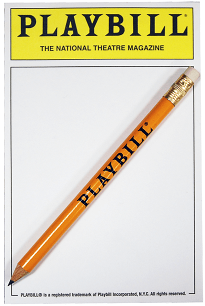 Playbill Notepad