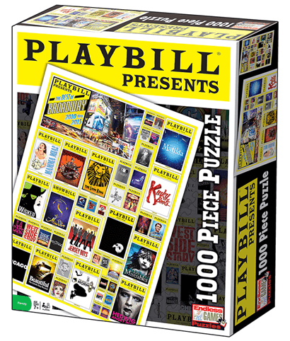 Playbill Presents the Best of Broadway 2010 to 2015  - 1,000 Piece Jigsaw Puzzle