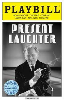 Present Laughter Limited Edition Official Opening Night Playbill