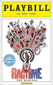 Ragtime Limited Edition Official Opening Night Playbill