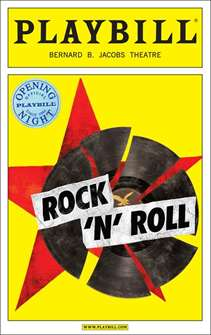 Rock n Roll Limited Edition Official Opening Night Playbill