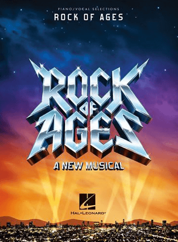 Rock Of Ages  Piano/Vocal Selections Songbook