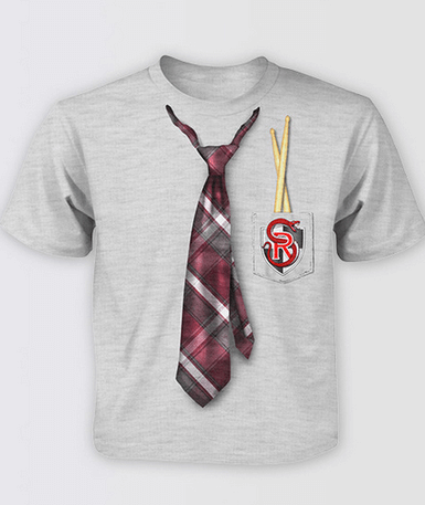 School Of Rock - Tie Print Tshirt for Kids