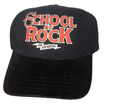 School Of Rock The Broadway Musical - Logo Baseball Cap