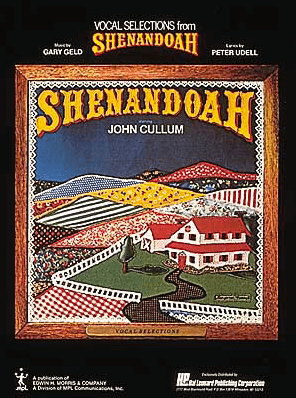 Shenandoah Piano/Vocal Selections Songbook
