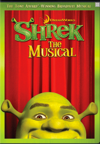 Shrek the Broadway Musical - Filmed Live on Stage DVD