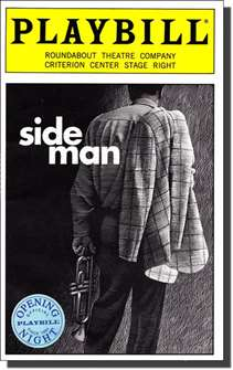 Side Man Limited Edition Official Opening Night Playbill