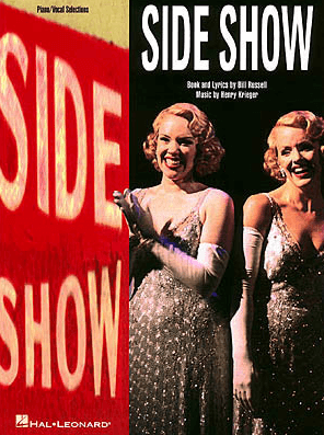 Side Show Souvenir Edition Piano/Vocal Selections Songbook
