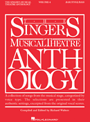 Singers Musical Theatre Anthology - Baritone/Bass Voice - Volume 4