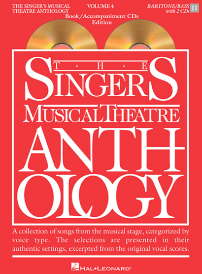 Singers Musical Theatre Anthology: Baritone/Bass Voice - Volume 4, with Piano Accompaniment CDs