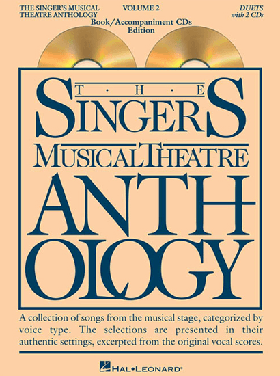 Singers Musical Theatre Anthology: Duets - Volume 2, with Piano Accompaniment CDs
