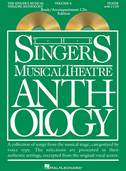 Singers Musical Theatre Anthology: Tenor Voice - Volume 4, with Accompaniment CDs