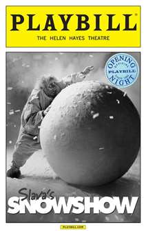 Slavas Snowshow Limited Edition Official Opening Night Playbill