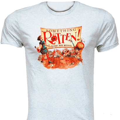 Something Rotten the Broadway Musical - Poster Art T-Shirt