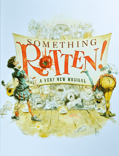 Something Rotten the Broadway Musical - Souvenir Program