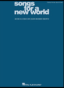 Songs For A New World Piano/Vocal Selections Songbook