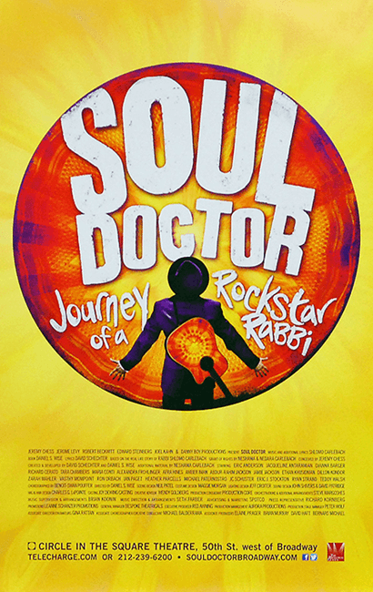 Soul Doctor the Musical Broadway Poster