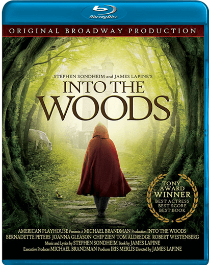 Stephen Sondheims Into The Woods - Filmed Live on Stage Blu-Ray Disc