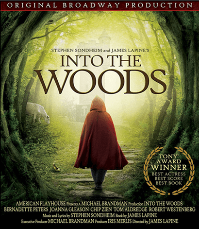 Stephen Sondheims Into The Woods - Filmed Live on Stage DVD