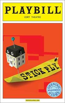 Stick Fly Limited Edition Official Opening Night Playbill