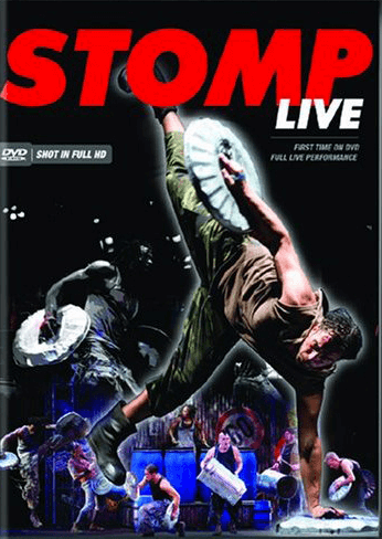Stomp - Filmed Live on Stage DVD