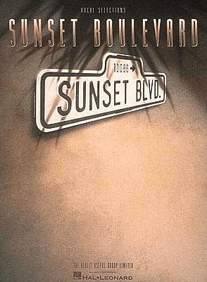 Sunset Boulevard Piano/Vocal Selections Songbook