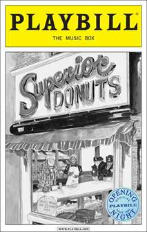 Superior Donuts Limited Edition Official Opening Night Playbill