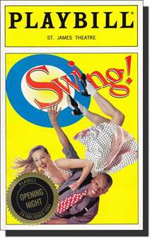 Swing! Limited Edition Official Opening Night Playbill