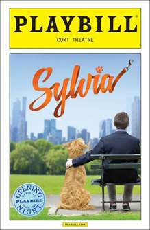 Sylvia Limited Edition Official Opening Night Playbill