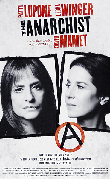 The Anarchist Broadway Poster