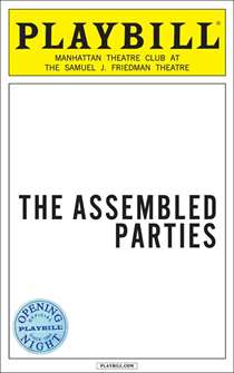 The Assembled Parties Limited Edition Official Opening Night Playbill