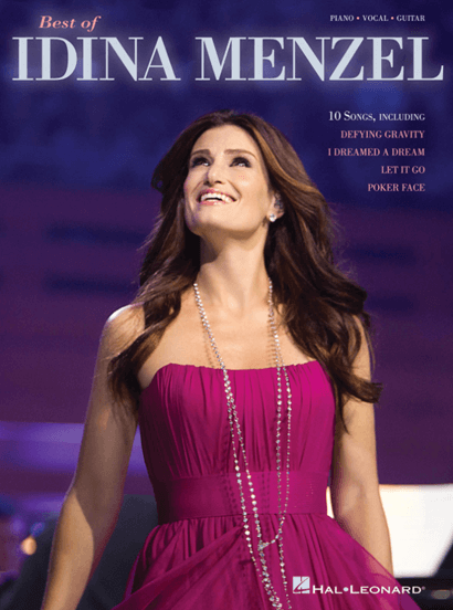 The Best of Idina Menzel Piano/Vocal Songbook