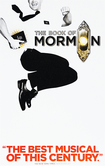 The Book Of Mormon Broadway Poster Posters Window Cards