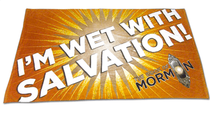 The Book of Mormon the Broadway Musical - Salvation Beach Towel