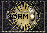 The Book of Mormon the Broadway Musical - Starburst Magnet
